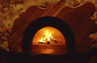 A brick oven gives the crust a crispness you don't get in conventional ovens.