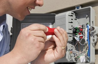 Electricians install low-voltage cabling for video, voice and data transmission.