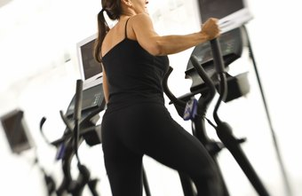You need to engage several muscle groups when using an elliptical machine, including the glutes in your butt.