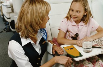 A stewardess provides a friendly atmosphere for traveling.