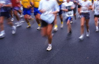 Long-distance running engages slow-twitch muscle fibers.