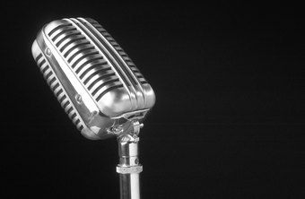 A quality microphone can help you create a high quality voice demo.