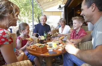 Some restaurants are designed to attract multigenerational family groups.