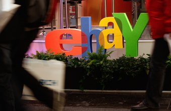 A few types of items sold on eBay can be paid for outside of an electronic pay service.