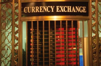 Exchange or conversion of currency affects a company's bookkeeping.