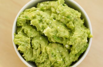 Guacamole pairs well with many low-carb, nutritious items.