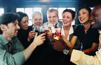 Having a business party is an effective way to congratulate your staff.