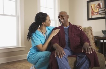 Gerontology aides work closely with elderly and aging men and women.
