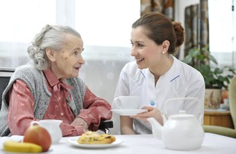 Social work with the elderly is a human service career option.