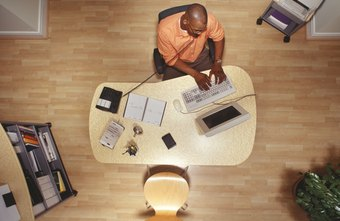 Many contemporary jobs involve sedentary activities such as working at a desk.