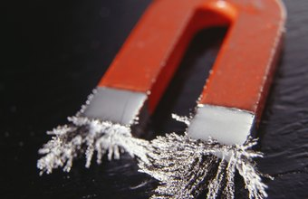 Because magnets adhere only to ferrous metals, you can't stick magnetic paper on aluminum, glass or plastic.
