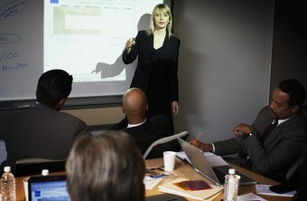 Stream PowerPoint slides to a large screen, so that you can share your presentation with a larger group.
