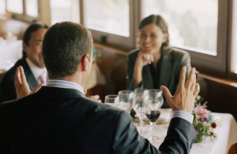 The business lunch provides an effective opportunity to network.