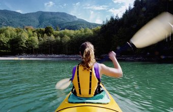 Yoga can help kayakers strengthen their muscles and soothe aches and pains.
