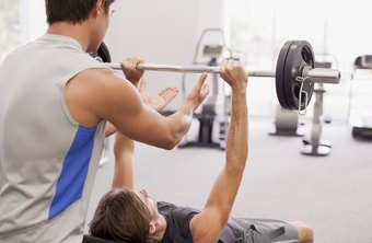 Incline bench presses on a slant board target your upper chest.