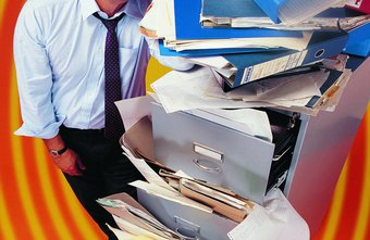 Avoid a paper disaster at year end.