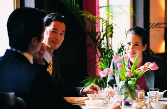 A business lunch interview may not be that informal after all.
