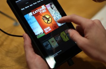 The Kindle Fire can run multiple apps in the background at the same time.
