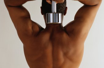 A strong V-shaped back helps protect your spine.