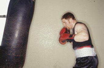 Hitting the heavy bag is a central part of any boxing workout.