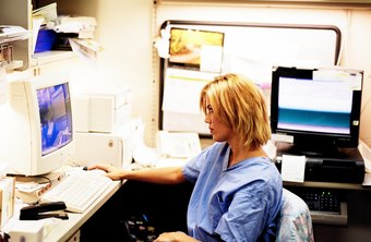 Nurses use many computer applications in the course of a workday.