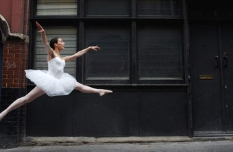 A ballet dancer's repetitive front kicks can tighten the hip flexors.