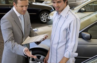 A car dealership can assume different legal entities.