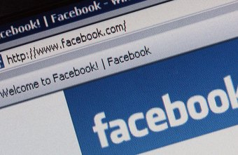 Facebook posts can contain writing, links or videos.