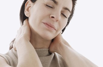 Radiating neck pain may stem from a compressed nerve.