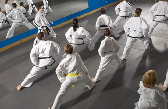 Martial arts instructors do much more than lead students through kicks and punches.