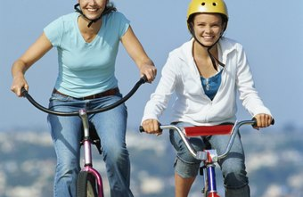 An easy bike ride is both fun and effective, calorie-burning exercise.