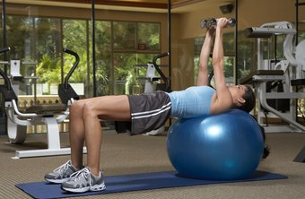 Swiss ball torso rotations are a core-strengthening exercise.