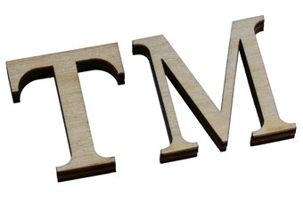 The use of the trademark symbol may mean that a company's patent application is pending.