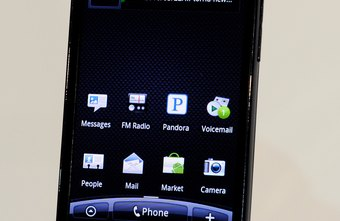 The EVO 4G is a bar-style Android phone from HTC.