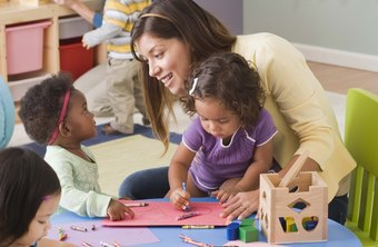 The daycare staff includes a director, teachers and teacher's assistants.