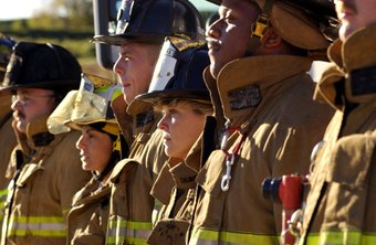 To get into a firefighter training program, focus on high school education and physical health and fitness.