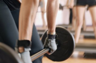 Barbell rows help build muscle and burn fat.