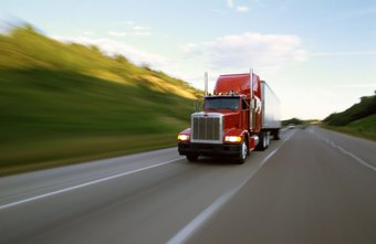 A corporate truck driver could drive a big rig.