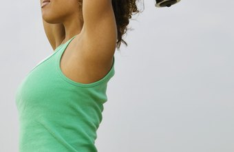 Target underarm fat with resistance exercises.