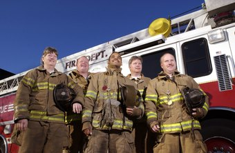 Firefighter dispatchers tell firefighters where to go.