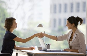 A verbal job offer often consists of a conversation and a handshake.