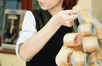 Master stylists can complete intricate updos.