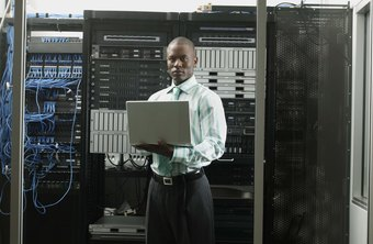 IT field technicians use laptop software to troubleshoot problems where they occur.