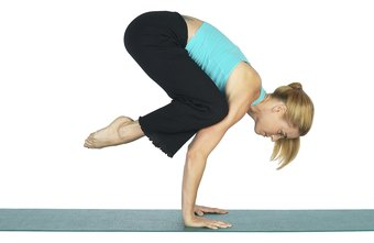 Even beginners can do Crow pose with the right preparation.