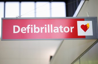 Defibrillators in the workplace could save lives.