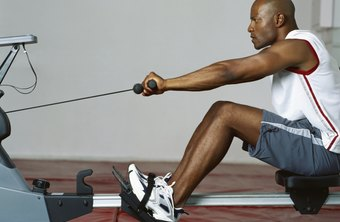 Rowing machines burn calories and build muscle.