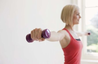 At home or the gym, dumbbells provide a workout to improve your body.