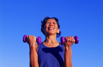 Dumbbell biceps curls will tone and tighten the front of your upper arms.
