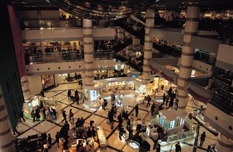 Specialy retailers in malls often employ sales associates because of specialized products.