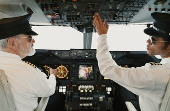 Captains and co-pilots can both fly an aircraft.